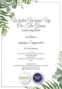 Winter Warm Up On The Green – Ladies Long Lunch